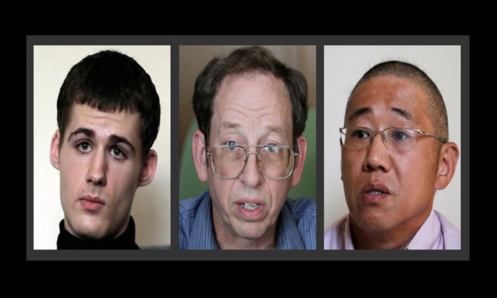 Tři Američané zadržovaní v KLDR