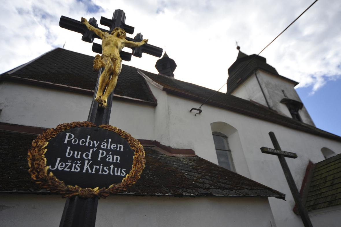 Kostel v Čihošti