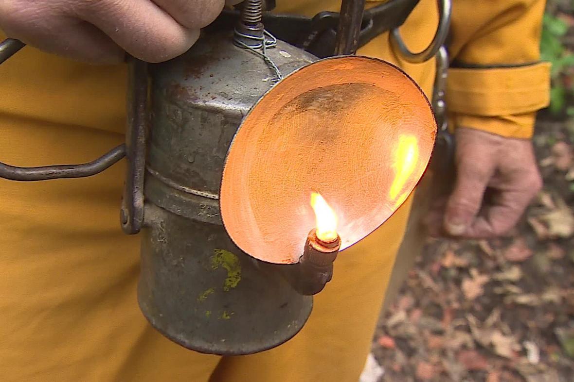 Karbidová svítilna