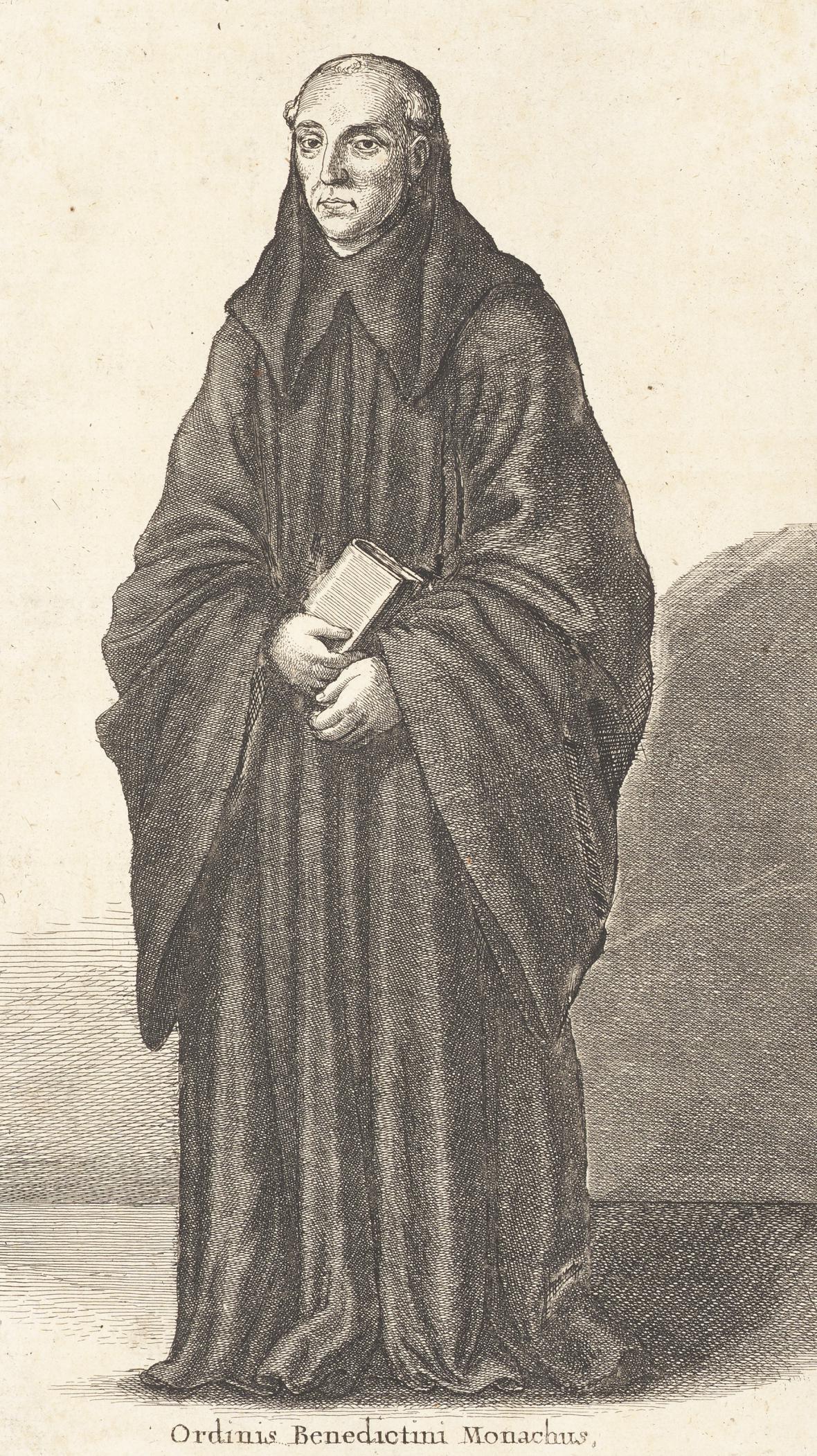 Mnich benediktinského řádu