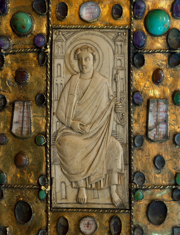 Karolínský fransko-saský evangeliář