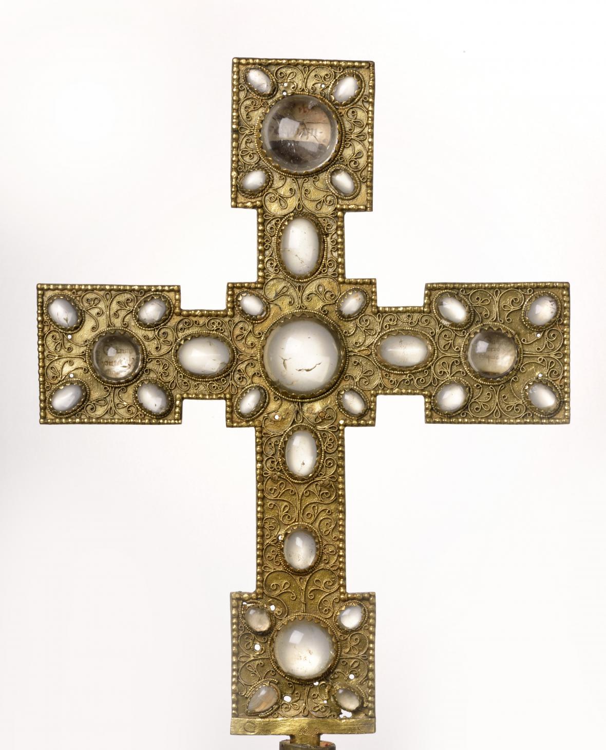 Ostatkový (procesní) kříž z Roudnice