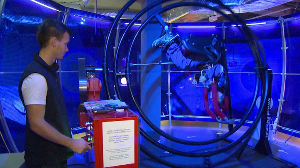 Účastník Expedice Mars na gyroskopu