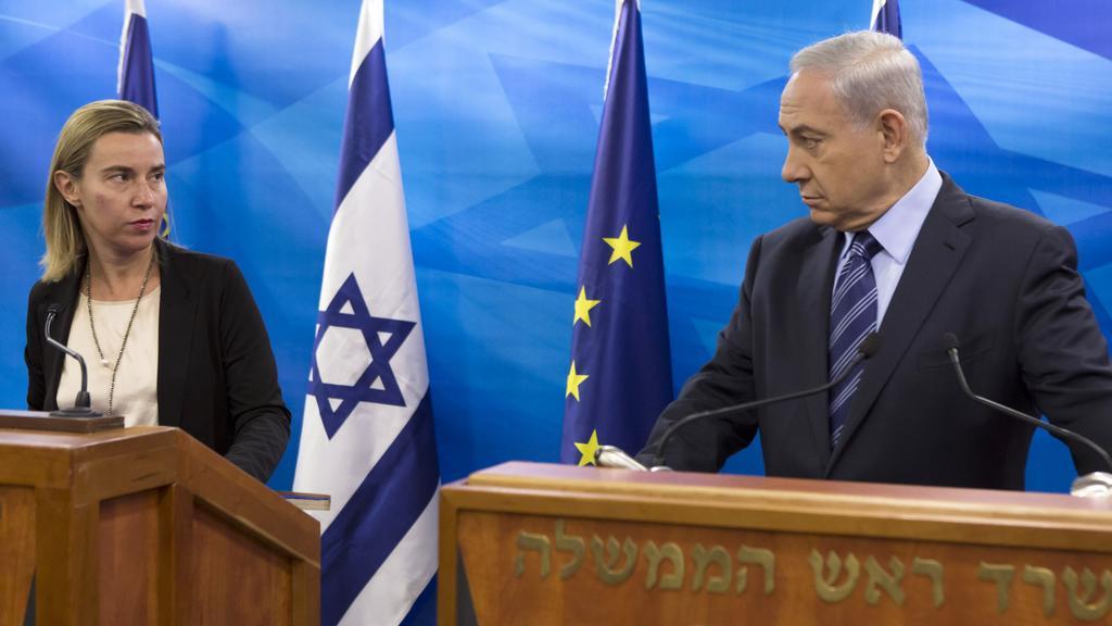 Mogheriniová po jednání s izraelským premiérem