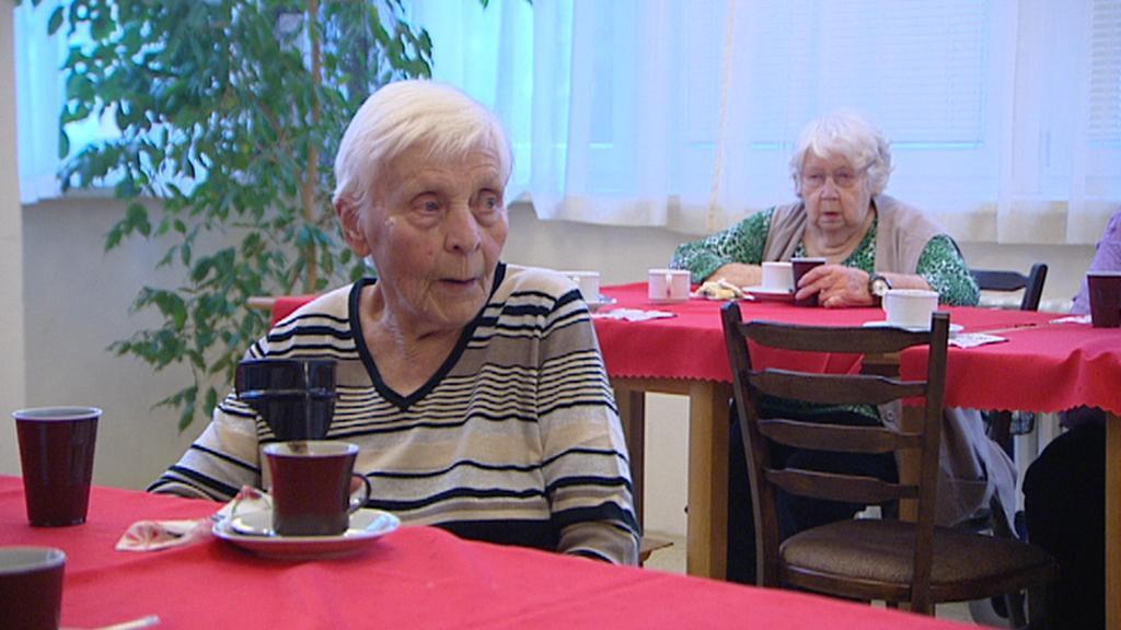Obyvatelky malešického domova pro seniory