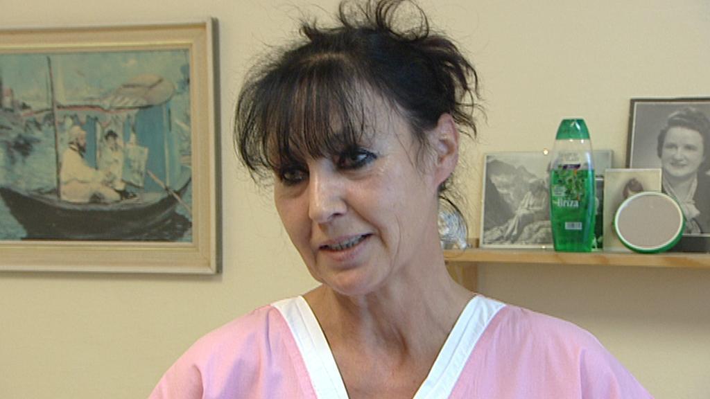 Hana Heidingerová z malešického domova pro seniory