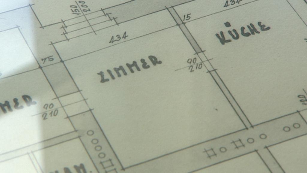Plány na stavbu gymnázia z roku 1913