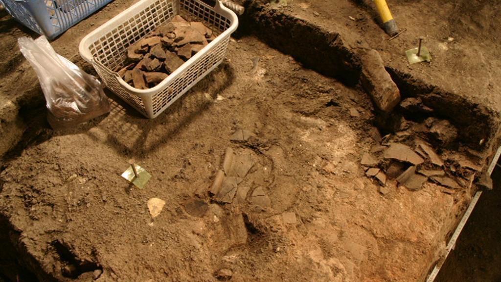 Archeologické naleziště v Thunovské ulici