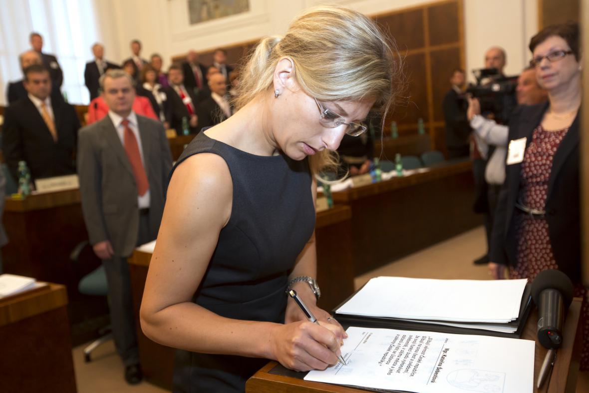 Náměstkyně primátora Kateřina Šebestová