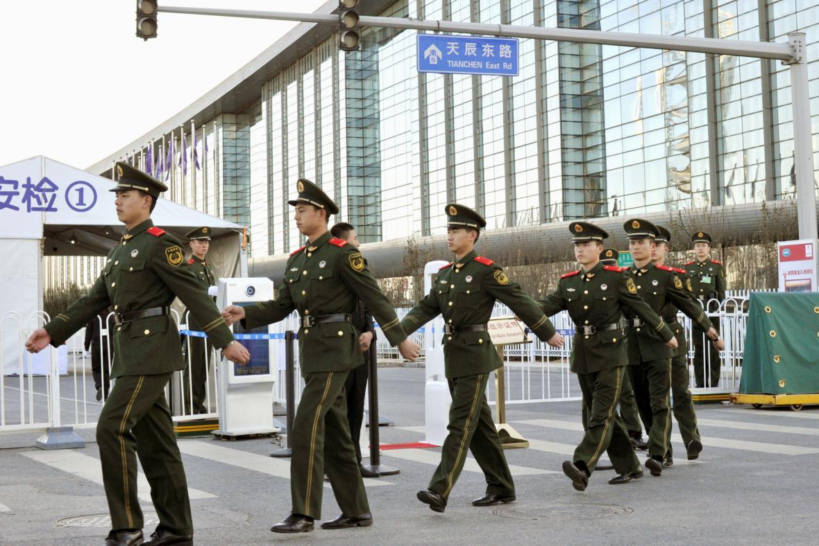 Přípravy na summit APEC v Číně