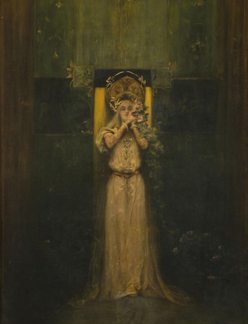 Alfons Mucha / Flóra, 1898