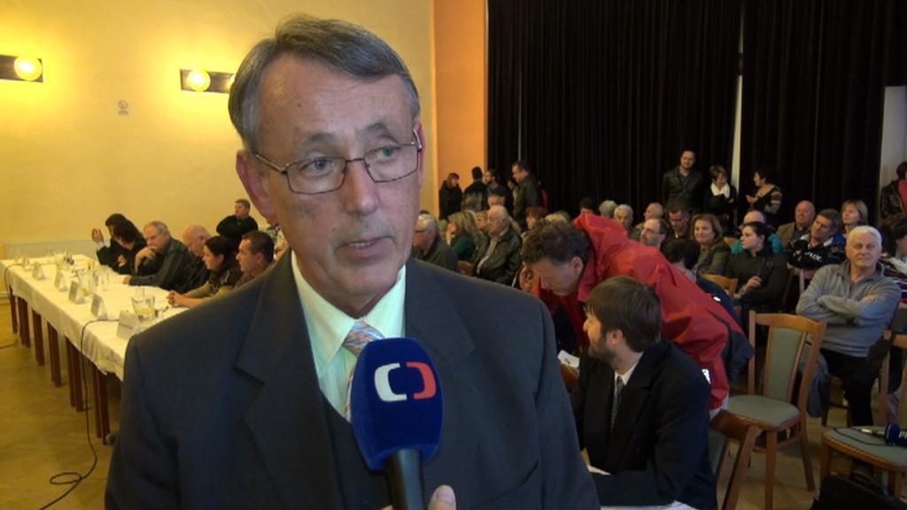 Nově zvolený místostarosta Duchcova Stanislav Strohmeier (KSČM)