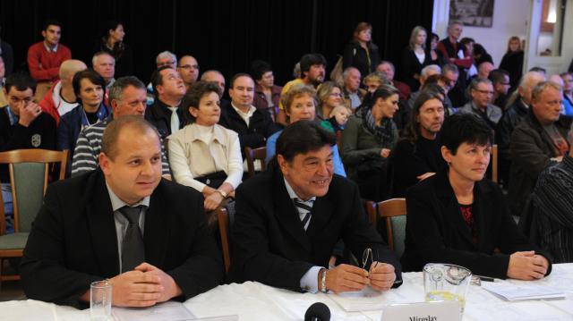 DSSS v Duchcově - Jindřich Svoboda, Miroslav Toman, Miluše Janoušková