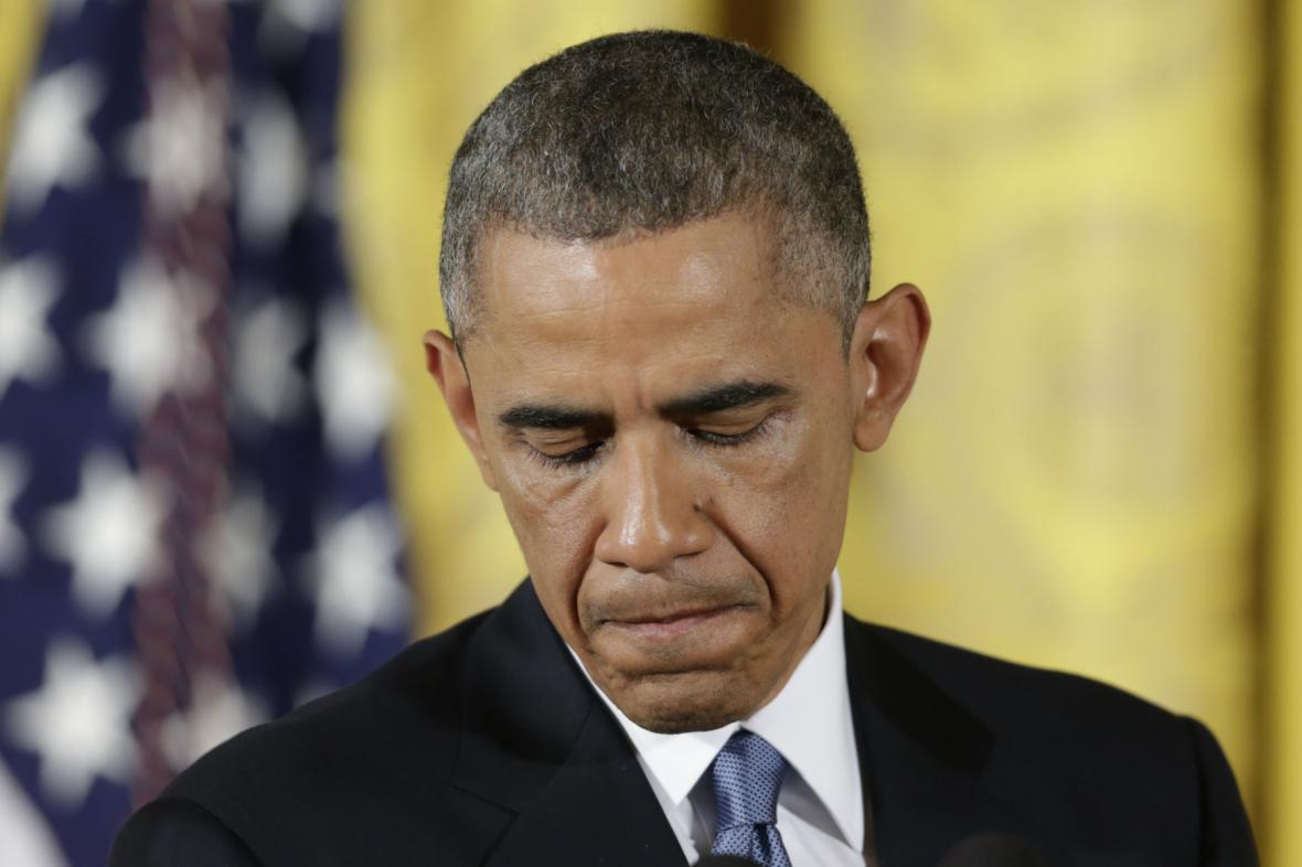 Barack Obama reaguje na volební debakl demokratů