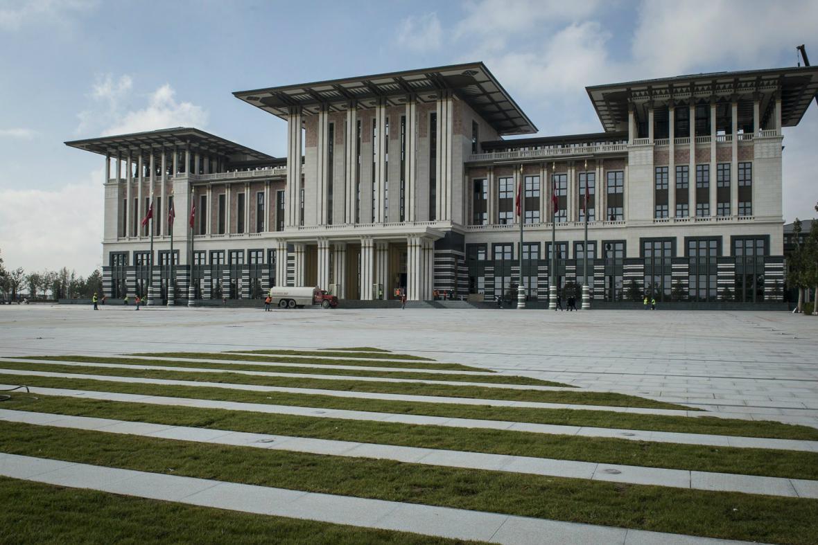 Erdoganův prezidentský palác