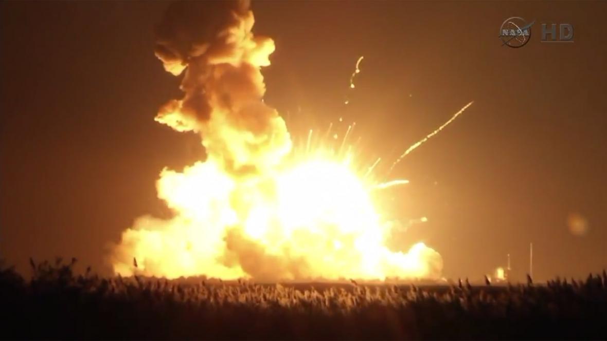 Exploze rakety Antares