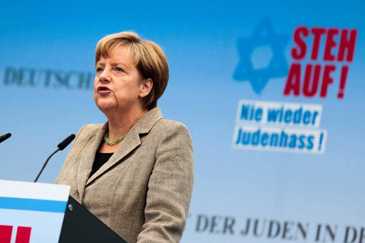 Projev Angely Merkelové