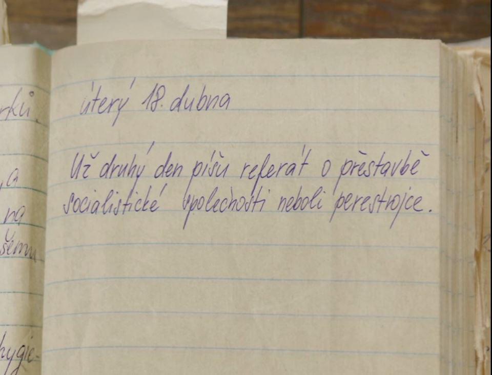 1989: Z deníku Ivany A.