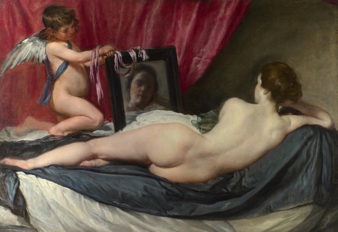 Diego Velázquez / Venuše před zrcadlem, 1648-1651
