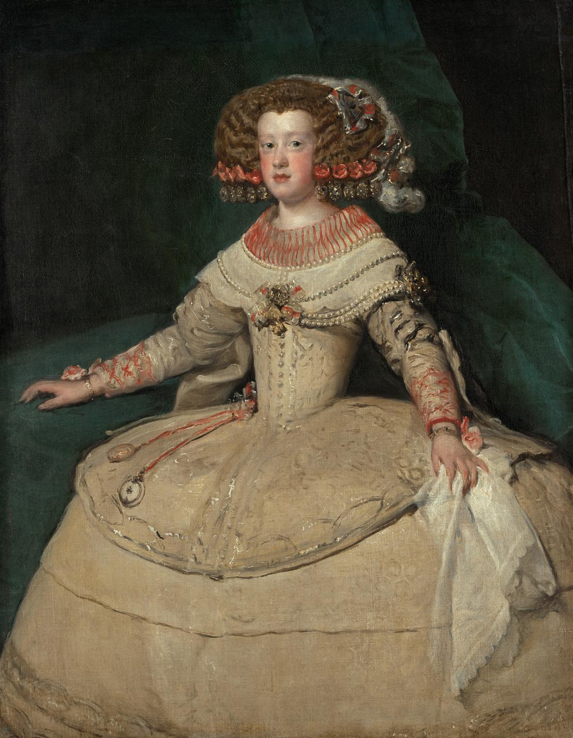 Diego Velázquez / španělská infantka Marie Tereza, 1652/53