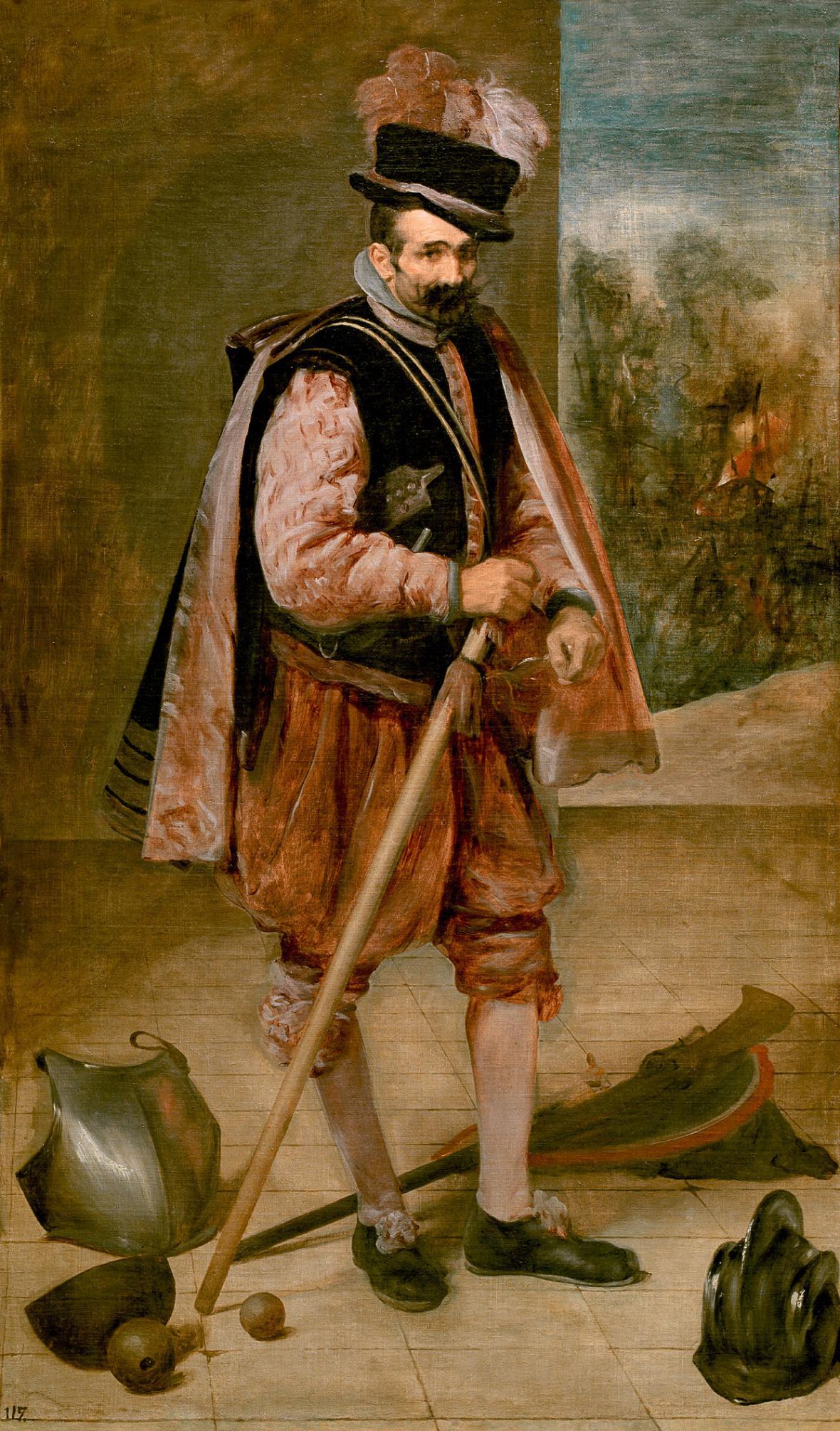 Diego Velázquez / dvorní šašek Don Juan de Austria, 1633