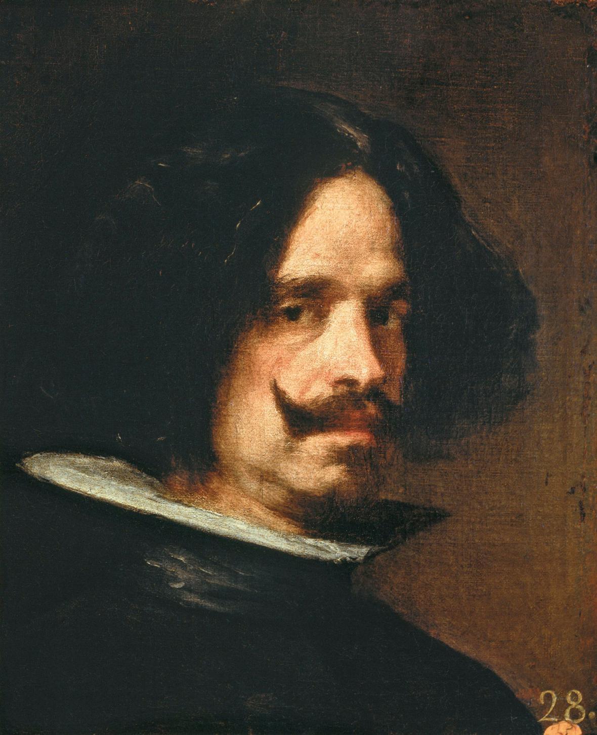 Diego Velázquez / autoportrét, kolem 1650
