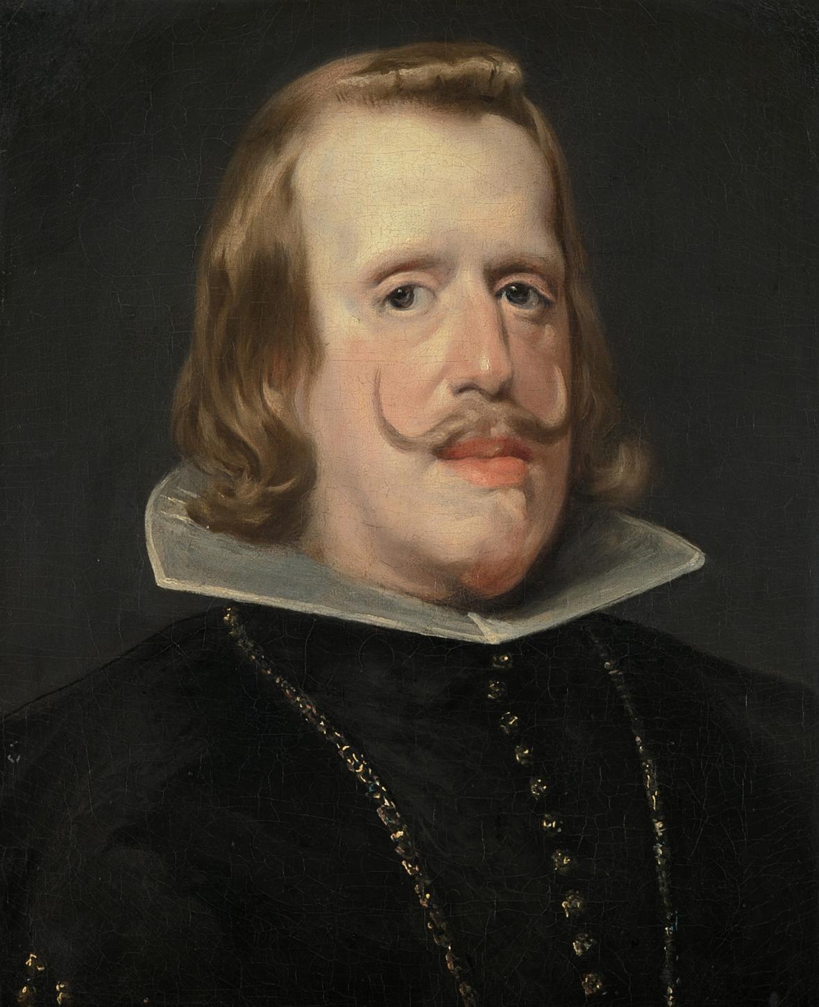 Diego Velázquez / španělský král Filip IV., 1653-56/59