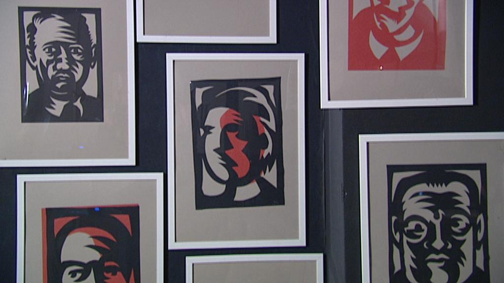 Z výstavy Prů/řez Jaromíra 99