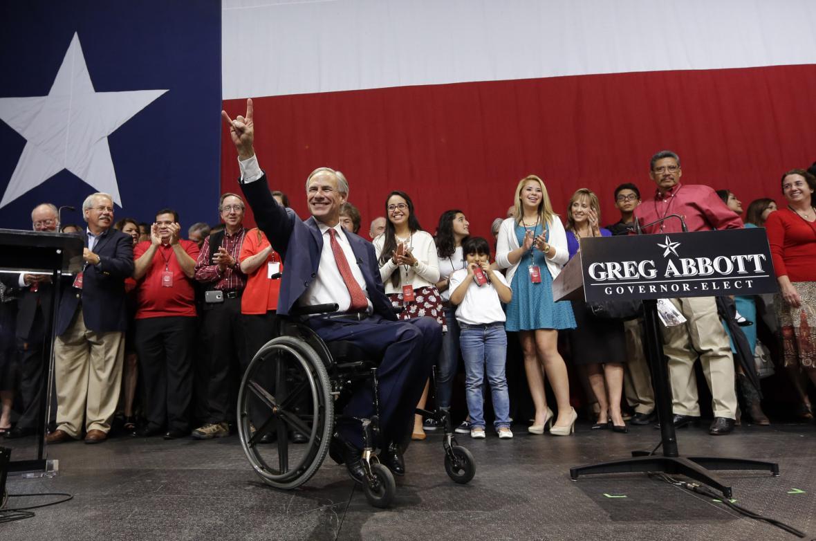 Greg Abbott se stal novým guvernérem v Texasu