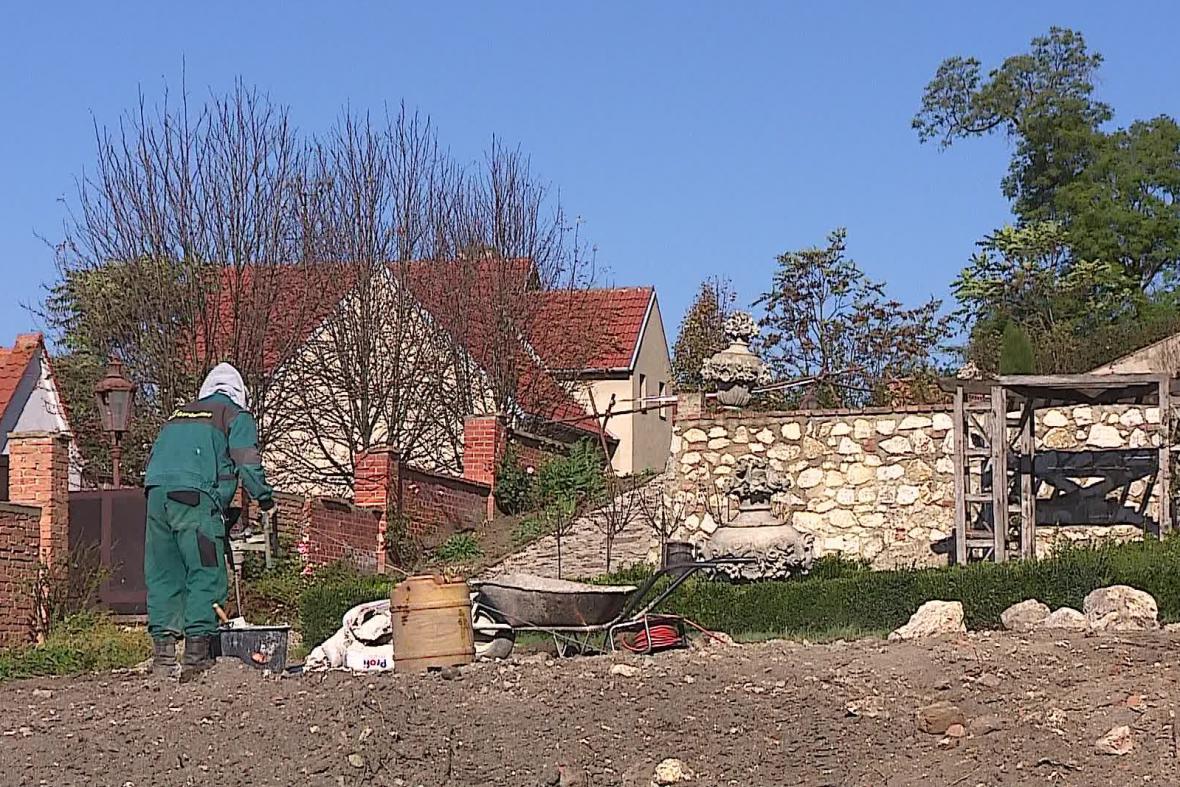 Obnova zámecké zahrady v Mikulově