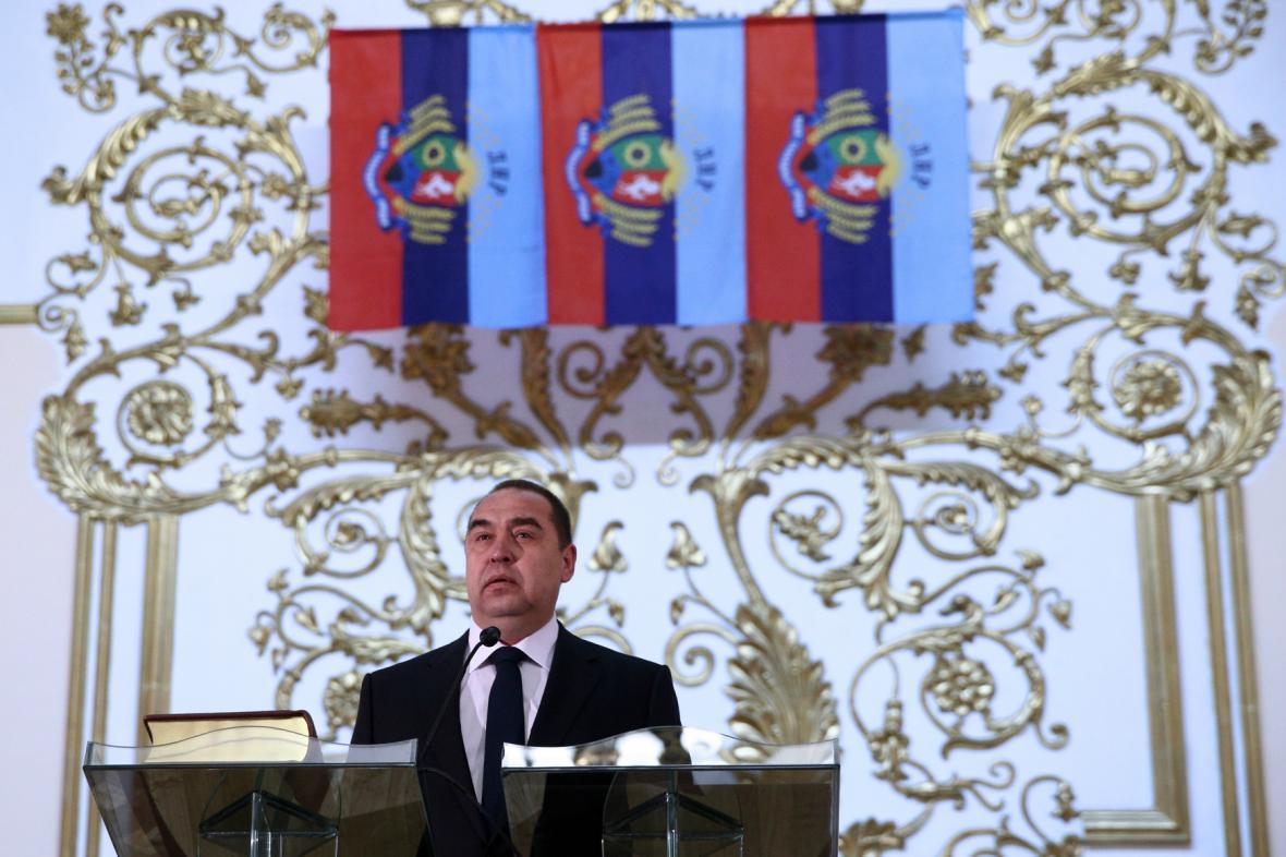 Igor Plotnickij se ujal funkce prezidenta Luhanské lidové republiky