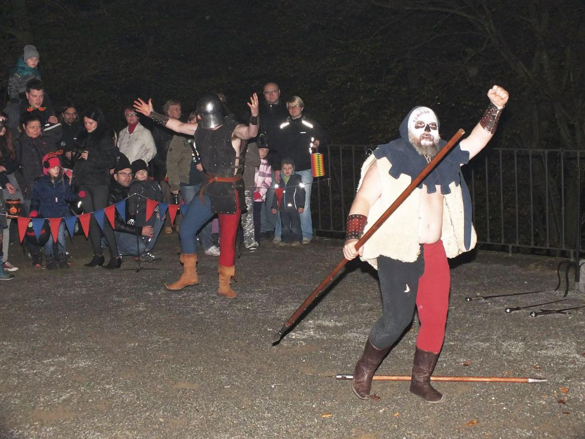 Halloween na zámku v Boskovicích