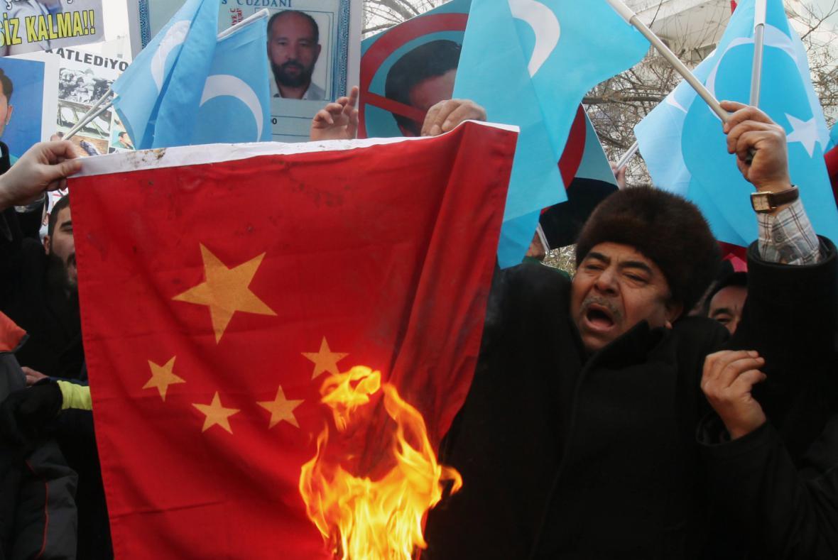 Protesty Ujgurů