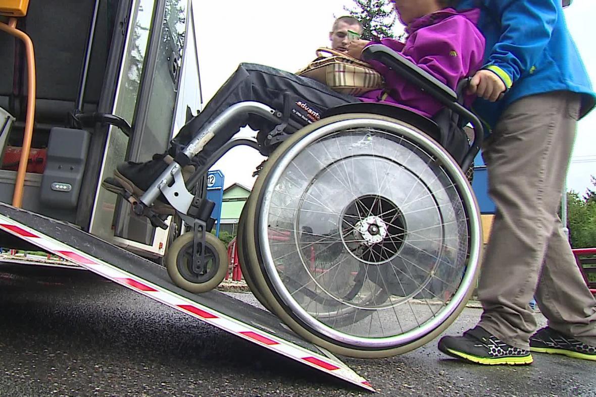 Cestování na vozíku