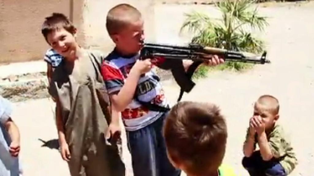 Děti v Islámském státu