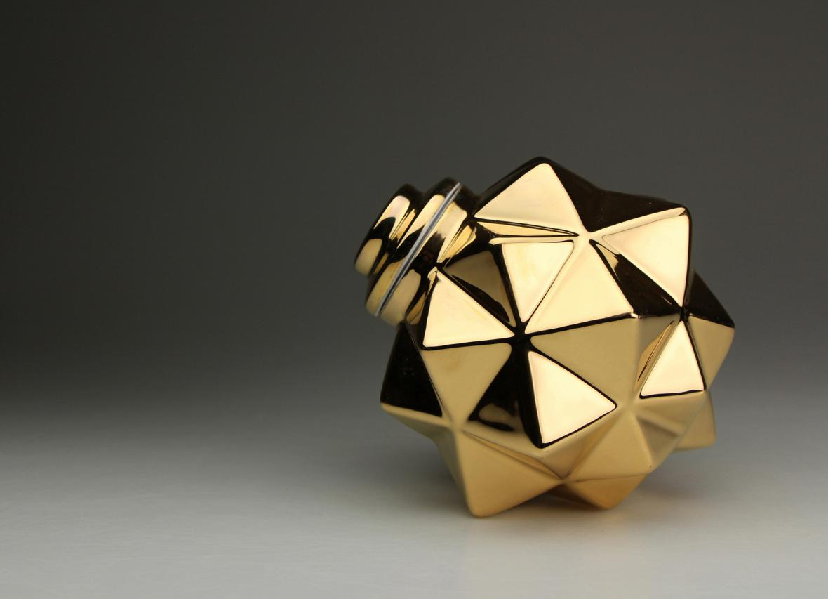 Porcelán Maggie Gold designéra Miloše Němce