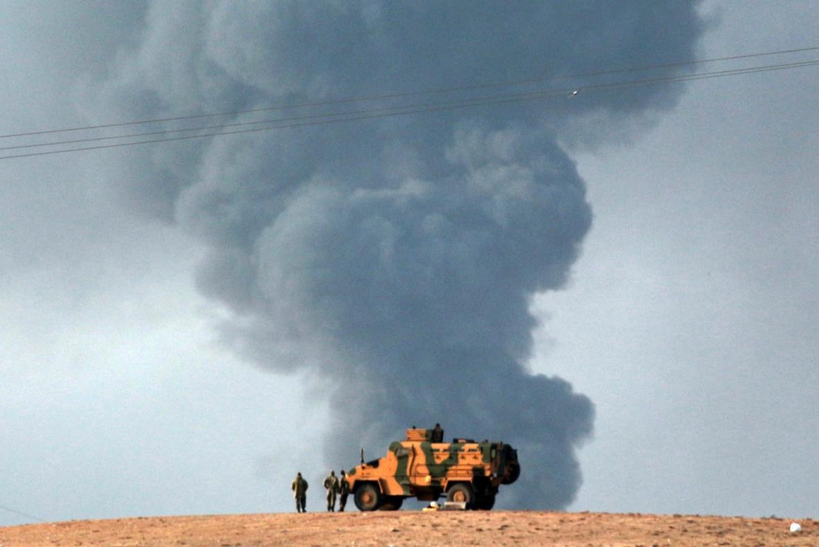 Boje s islamisty v Sýrii