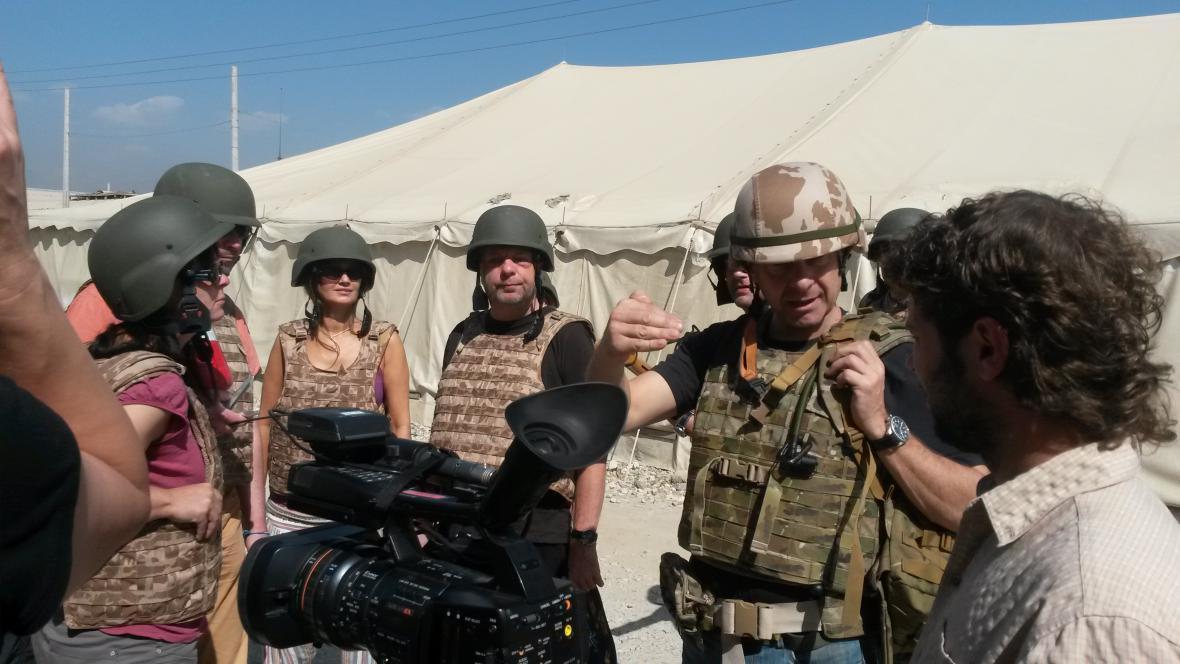 Herci divadla Sklep v Afghánistánu