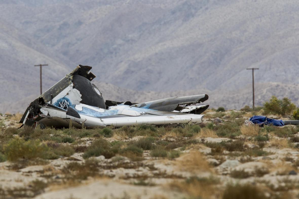 Havárie SpaceShip Two