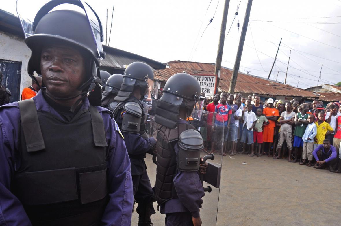 Ebola v Libérii