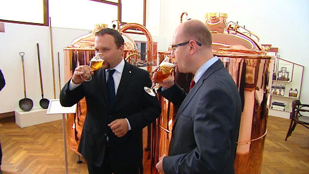 Premiér Sobotka a ministr Jurečka na návštěvě Budvaru