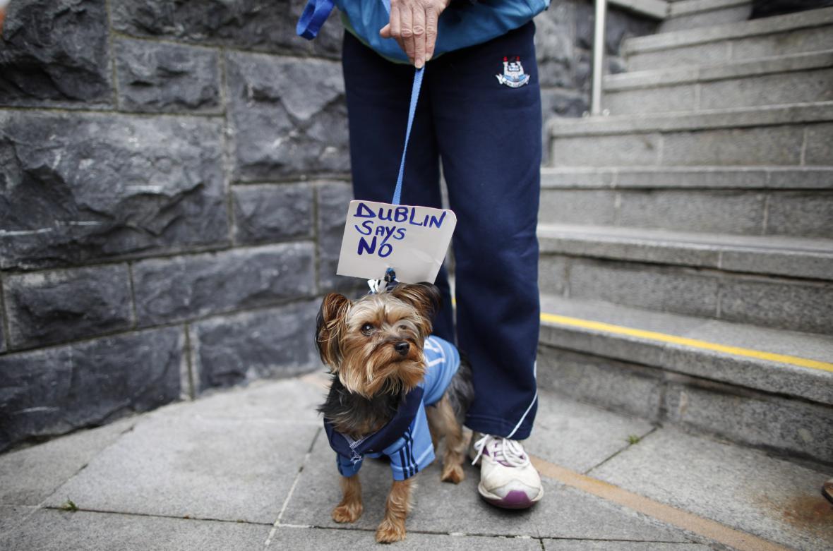 Demonstrace v Irsku