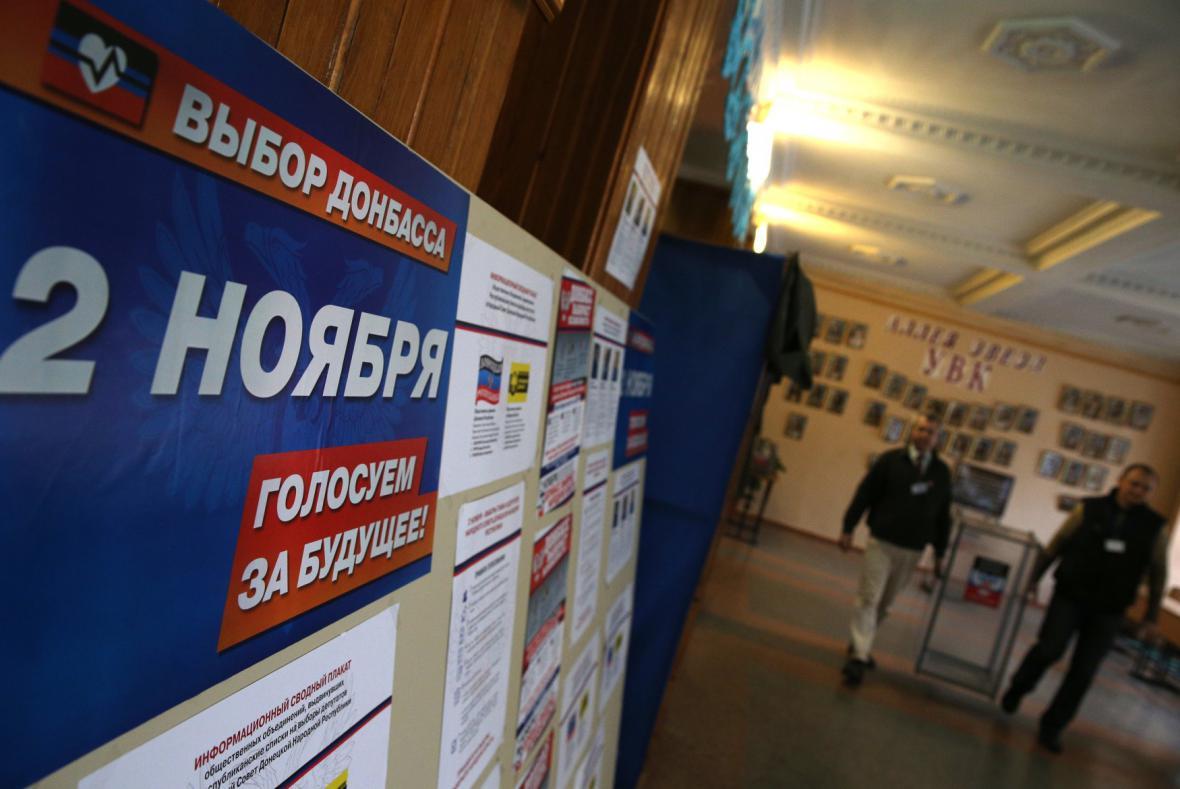 Volby proruských separatistů