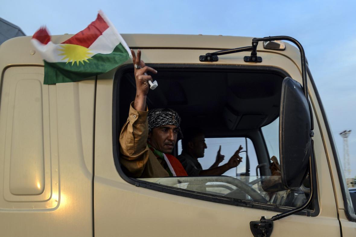 Pešmergové už jsou v Kobani