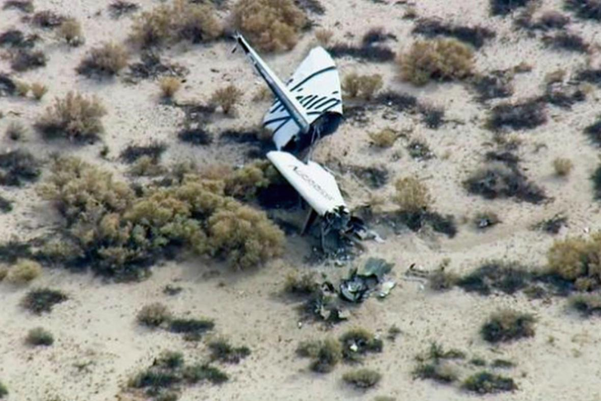 Nehoda SpaceShipTwo