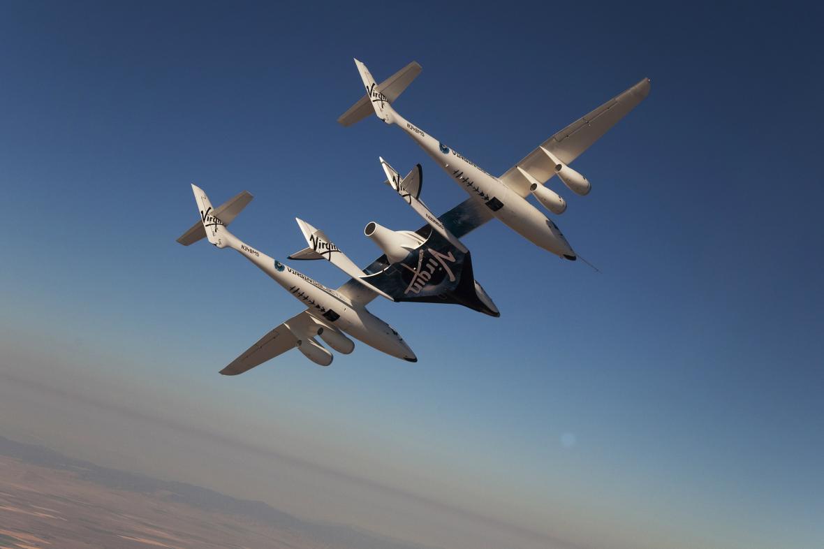 Vesmírná loď SpaceShipTwo