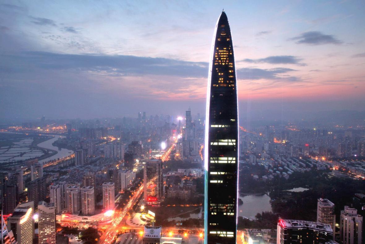 Čínské mrakodrapy