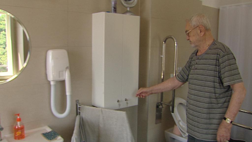 Vojtěch Kumpera, obyvatel vršovického domova pro seniory