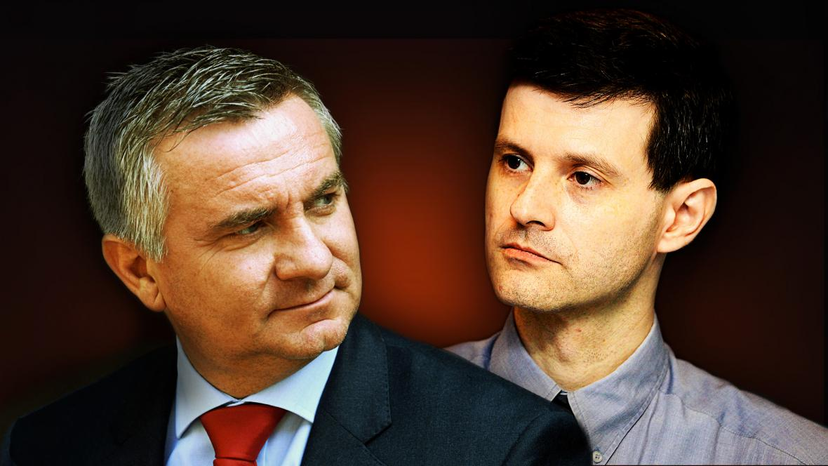 Vratislav Mynář a Pavel Hasenkopf