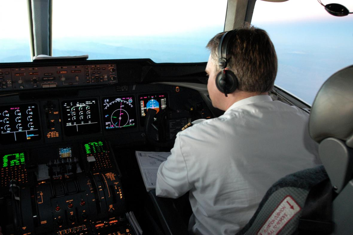 Kokpit MD-11